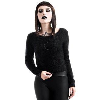 sveter dámsky KILLSTAR - Obscura Fuzzy Knit - Black, KILLSTAR