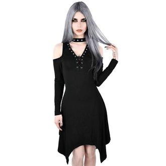 šaty dámske KILLSTAR - Onyx Fall-Deep - BLACK, KILLSTAR