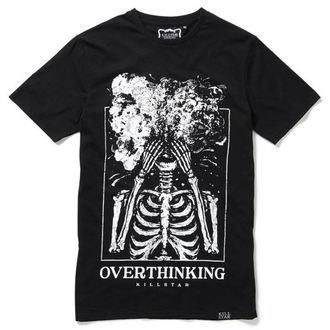 tričko pánske KILLSTAR - OVERTHINKING - BLACK - K-TSH-M-2953