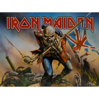 vlajka Iron Maiden - Trooper, HEART ROCK, Iron Maiden