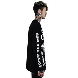 tričko pánske s dlhým rukávom KILLSTAR - Party - BLACK, KILLSTAR