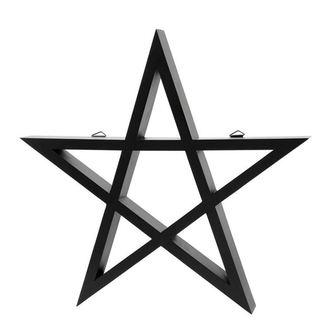 dekorácia KILLSTAR - PENTAGRAM - BLACK, KILLSTAR