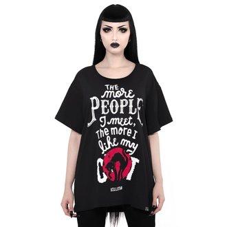 tričko dámske KILLSTAR - People Suck Relaxed - BLACK, KILLSTAR