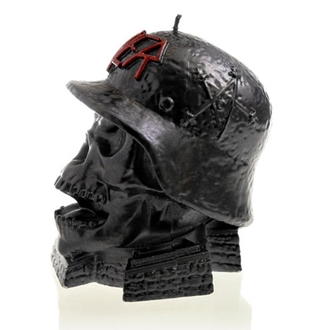 sviečka SLAYER - WEHRMACH - BLACK METALLIC - PLASTIC HEAD, PLASTIC HEAD, Slayer