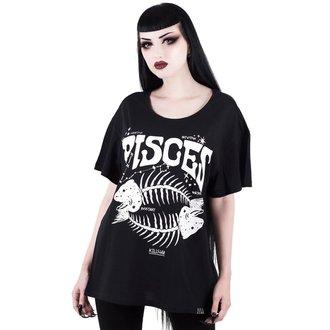 tričko dámske KILLSTAR - Pisces - BLACK, KILLSTAR
