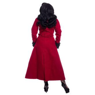 kabát dámsky Rockabella - BIANCA - RED, ROCKABELLA