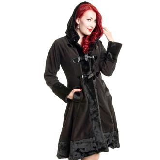 kabát dámsky POIZEN INDUSTRIES - MINX - BLACK, POIZEN INDUSTRIES