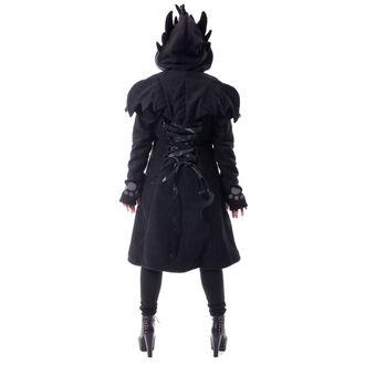 kabát dámsky CUPCAKE CULT - FURY - BLACK, CUPCAKE CULT