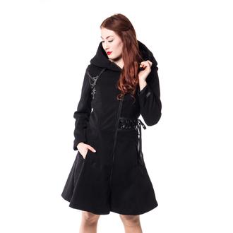 kabát dámsky POIZEN INDUSTRIES - TEARS - BLACK, POIZEN INDUSTRIES