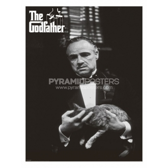 plagát - The Godfather (Cat B&W) - PP30526, PYRAMID POSTERS