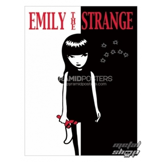 plagát - Emily The Strange (Strange Face) - PP31523, EMILY THE STRANGE