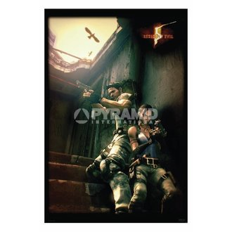 plagát Resident Evil 5 (Against A Wall) - PP31862, PYRAMID POSTERS