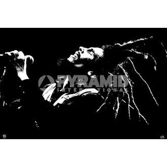 plagát Bob Marley (B&W) - PYRAMID POSTERS