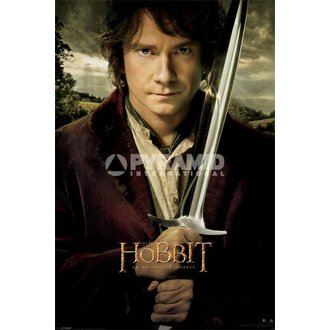 plakát The Hobbit - Bilbo - Pyramid Posters