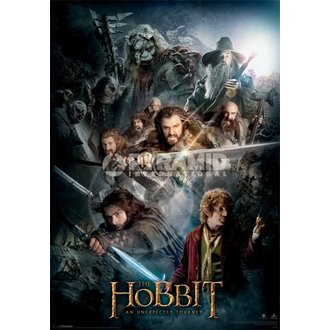 obraz 3D The Hobbit Dark Montage - Pyramid Posters