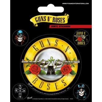 samolepky Guns N' Roses - PYRAMID POSTERS, PYRAMID POSTERS, Guns N' Roses