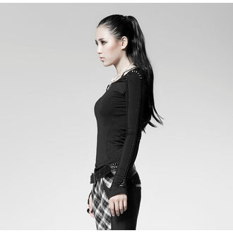 tričko dámske s dlhým rukávom PUNK RAVE - Soliaris - black, PUNK RAVE