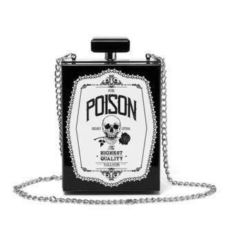 taška (kabelka) KILLSTAR - Pure Poison Clutch - BLACK, KILLSTAR