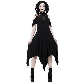 šaty dámske KILLSTAR - PYRE PIXIE EVENING - BLACK, KILLSTAR