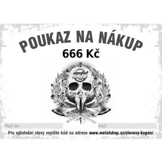 vianočné poukaz elektronický na 666 Kč
