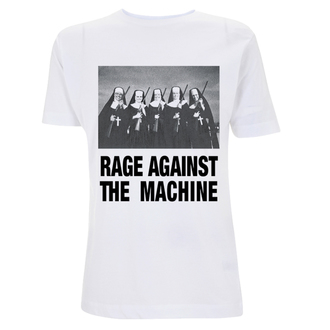 tričko pánske Rage Against The Machine - Nuns And Guns - White, NNM, Rage against the machine