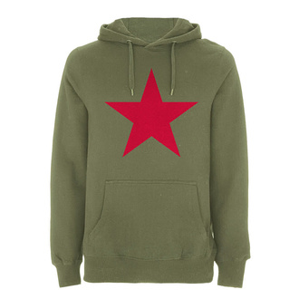 mikina pánska Rage against the machine - Red Star Olive - Green, NNM, Rage against the machine