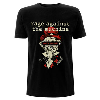 tričko pánske RAGE AGAINST THE MACHINE - Sam - Black, NNM, Rage against the machine