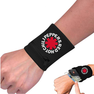 potítko Red Hot Chili Peppers - Asterisk Black - RTRHCWRISTBS