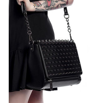 kabelka (taška) KILLSTAR - Rhea Spiked - Black, KILLSTAR