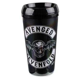 hrnček termo Avenged Sevenfold - ROCK OFF, ROCK OFF, Avenged Sevenfold