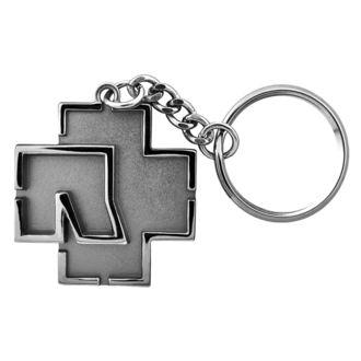 kľúčenka (prívesok) RAMMSTEIN - Logo Schlüsselanhänger - grey, RAMMSTEIN, Rammstein