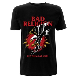 tričko pánske Bad Religion - Bomber - Eagle Black, NNM, Bad Religion
