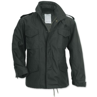 bunda pánska zimný SURPLUS - FIELDJACKET M 65 - Schwarz, SURPLUS