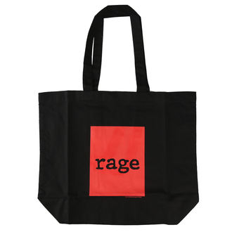 taška Rage Against the Machin - Red Square - Black Shopper, Rage against the machine