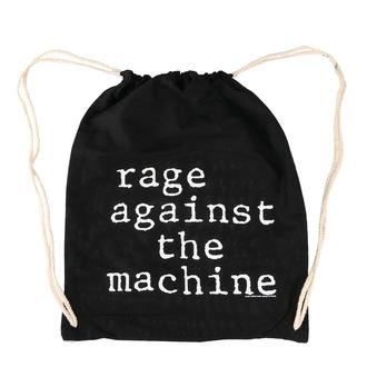 vak Rage Against the Machin - Stack Logo - Black Drawstring, NNM, Rage against the machine