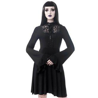 šaty dámske KILLSTAR - Sabrina Ruffle - BLACK, KILLSTAR