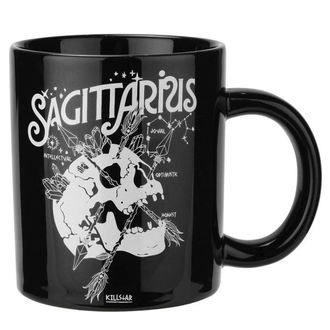 hrnček KILLSTAR - Sagittarius - BLACK, KILLSTAR