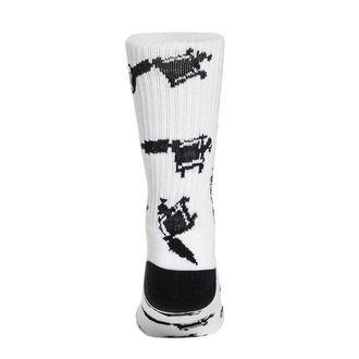 ponožky SULLEN - MACHINED - WHITE, SULLEN