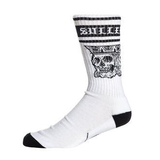 ponožky SULLEN - JACKED - WHITE / BLACK, SULLEN