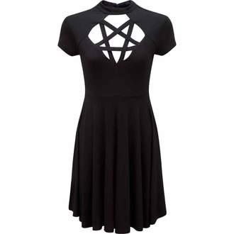 šaty dámske KILLSTAR - Scariel Penta - Black