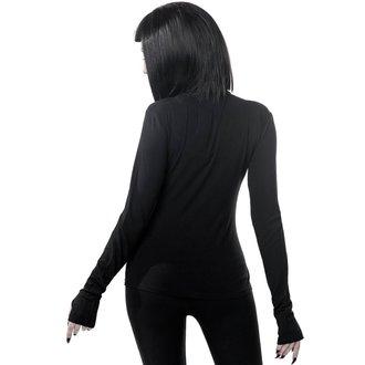 tričko dámske s dlhým rukávom KILLSTAR - Scarlet - BLACK, KILLSTAR