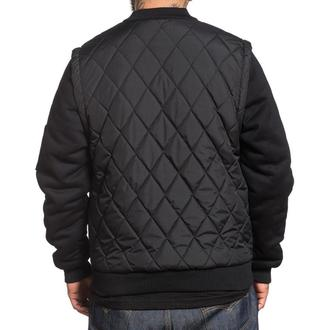 bunda pánska zimný SULLEN - CRAFT QUILTED - BLACK