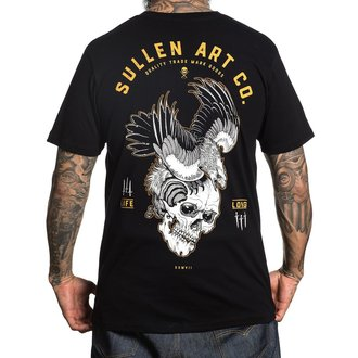 tričko pánske SULLEN - BLAQ EAGLE - BLACK, SULLEN