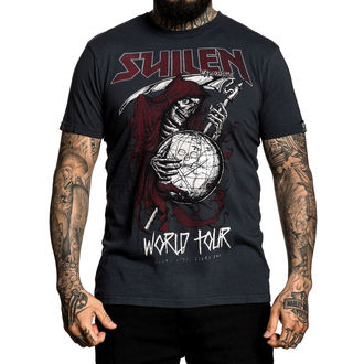 tričko pánske SULLEN - WORLD TOUR - BLACK, SULLEN