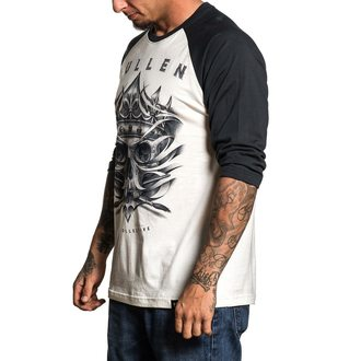 tričko pánske s 3/4 rukávom SULLEN - EVIL KOLORS ANTIQUE - WHITE / BLACK, SULLEN