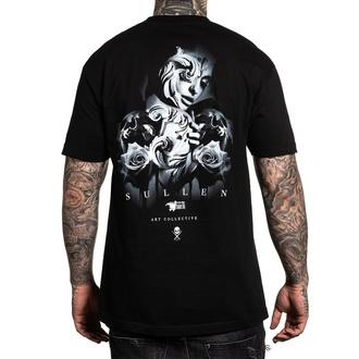 tričko pánske SULLEN - COOL GRAY - BLACK, SULLEN