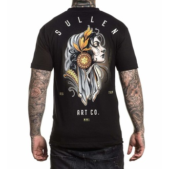 tričko pánske SULLEN - PACIENCIA - BLACK, SULLEN