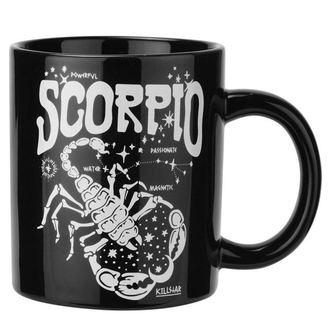 hrnček KILLSTAR - Scorpio - BLACK, KILLSTAR