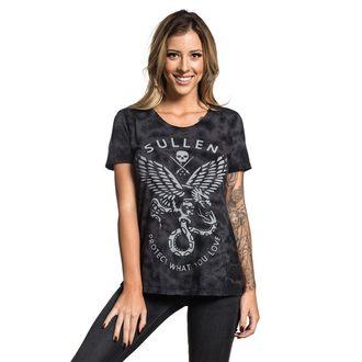 tričko dámske SULLEN - ENGAGE - BLACK, SULLEN