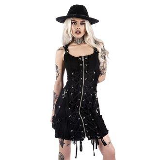 šaty dámske KILLSTAR - Sinder Hella - Black, KILLSTAR